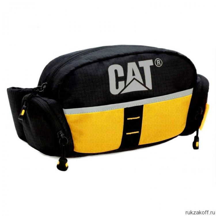 Сумка на пояс Caterpillar Urban Active желтая 83002-12