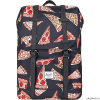 Рюкзак Herschel RETREAT YOUTH BLK PIZZA