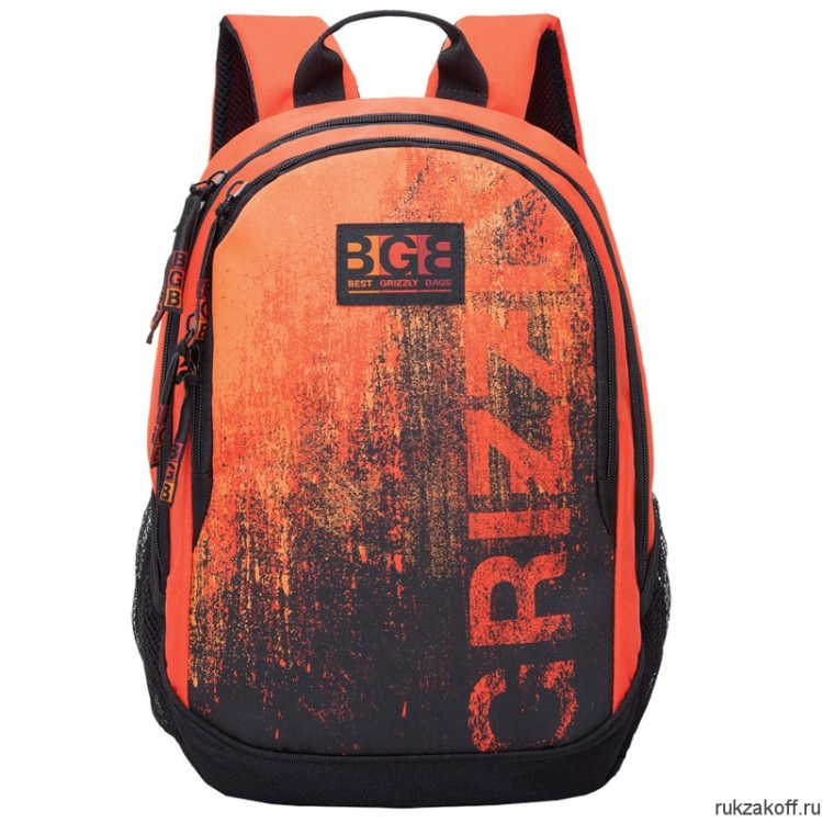 Рюкзак Grizzly Sand Orange Ru-603-1