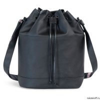 Сумка Herschel CARLOW BLACK/BLACK VEGGIE TAN LEATHER