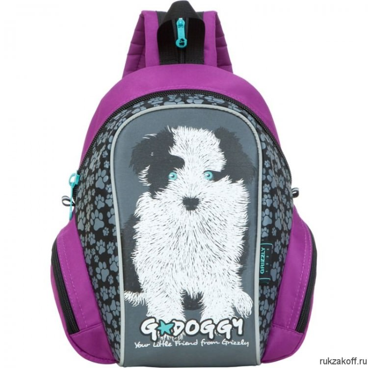 Детский рюкзак Grizzly Little Friend Purple Rs-665-4