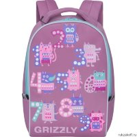 Рюкзак Grizzly Numeral Pink RS-764-6