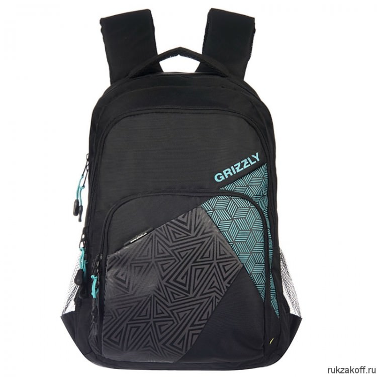 Рюкзак Grizzly Slope Turquoise Ru-607-1
