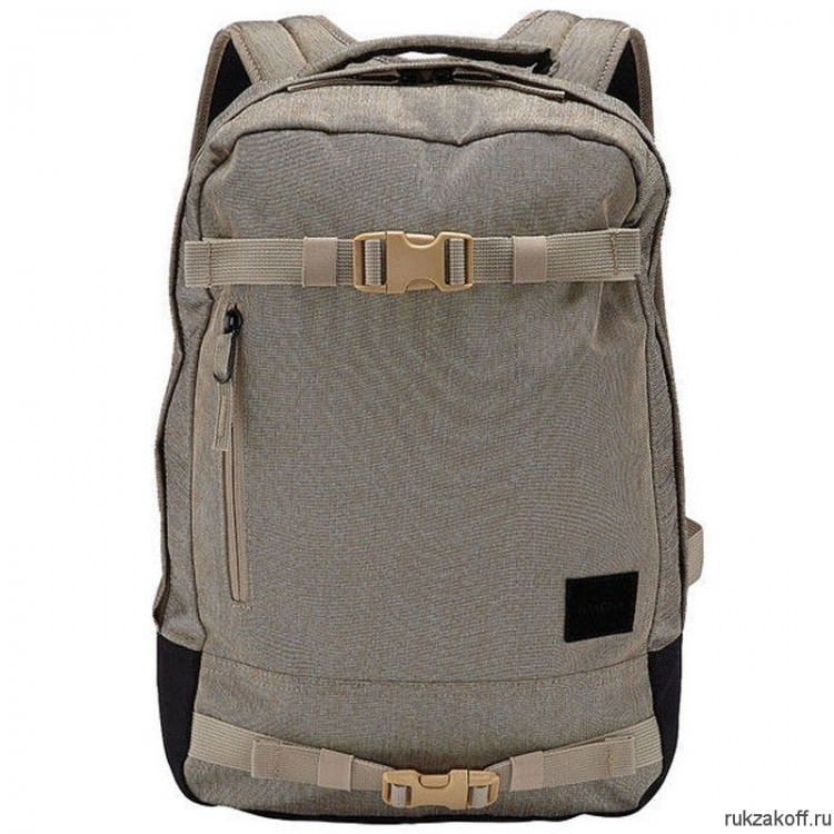 Рюкзак NIXON DEL MAR BACKPACK Khaki Heather