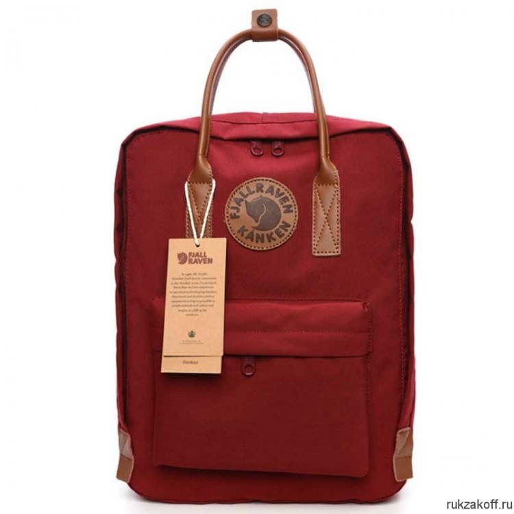 Рюкзак Fjallraven Kanken No. 2 Red