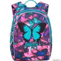 Рюкзак Grizzly Bright Butterfly Blue Rs-764-3