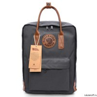 Рюкзак Fjallraven Kanken No. 2 grey