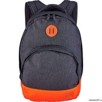 Рюкзак NIXON GRANDVIEW BACKPACK DARK GRAY/ORANGE
