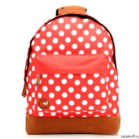 Рюкзак Mi-Pac PolkaDot All Polka Bright Red/White