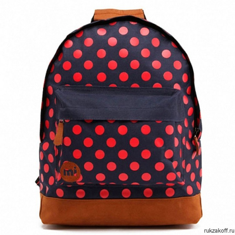 Рюкзак Mi-Pac PolkaDot All Polka Navy/Bright Red