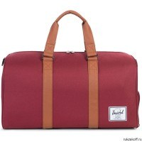 Сумка Herschel Novel WINDSOR WINE/TAN SYNTHETIC LEATHER