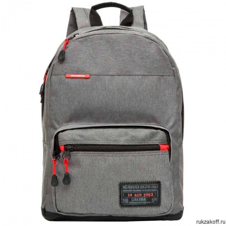 Рюкзак Grizzly Classic Gray Ru-614-2