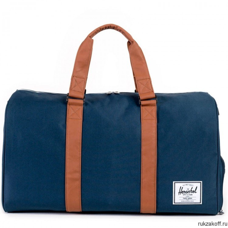 Сумка Herschel Novel Navy/Tan Synthetic Leather