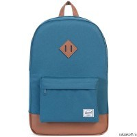 Рюкзак Herschel Heritage INDIAN TEAL/TAN SYNTHETIC LEATHER