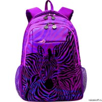 Рюкзак Grizzly Zebra Purple Rd-534-2