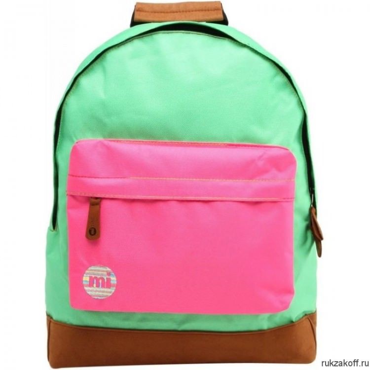 Рюкзак Mi-Pac Two Tone Kelly Green/Hot pink