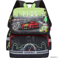 Школьный ранец Grizzly Play Time Light Green RA-777-1