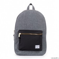 Рюкзак Herschel Settlement Charcoal Crosshatch & Black