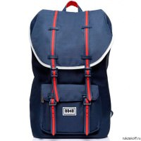 Рюкзак 8848 Little Taupe Navy/Red Rubber