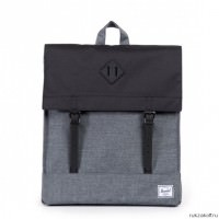 Рюкзак Herschel City | Mid-Volume Charcoal Crosshatch & Black