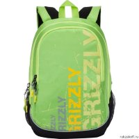 Рюкзак Grizzly Progression Lime Ru-721-1