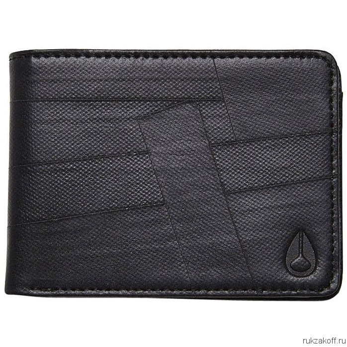 Кошелек NIXON SPINDLE BI-FOLD WALLET BLACK