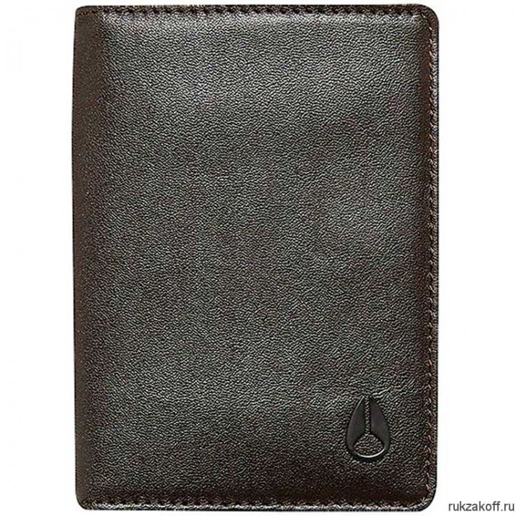 Кошелек NIXON RF CARD WALLET BROWN
