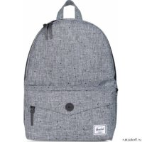 Рюкзак HERSCHEL SYDNEY MID-VOLUME SCATTERED RAVEN CROSSHATCH