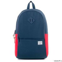 РЮКЗАК Herschel NELSON NAVY/RED/NAVY RUBBER