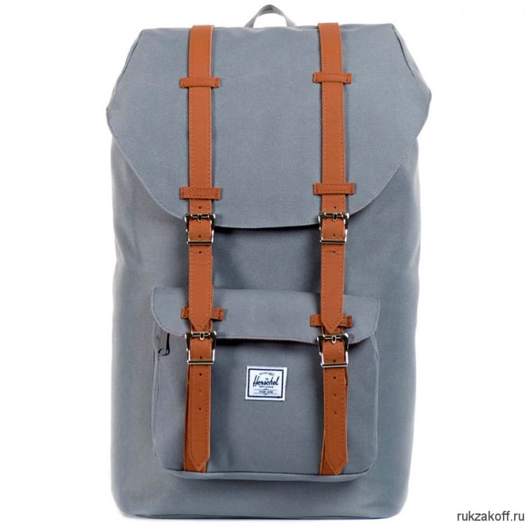 Рюкзак HERSCHEL LITTLE AMERICA GREY/TAN