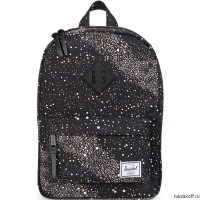 РЮКЗАК Herschel HERITAGE YOUTH MILKY WAY/BLACK RUBBER