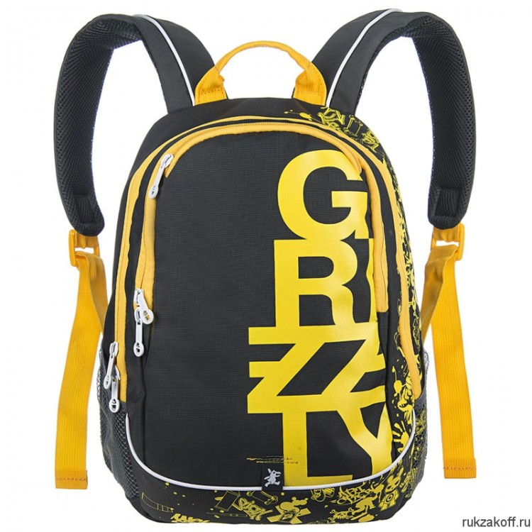 Рюкзак Grizzly Young Yellow Ru-400-1