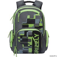 Рюкзак Grizzly Urban Green Ru-719-1