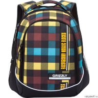 Рюкзак Grizzly Mosaic Cage rainbow Ru-707-5