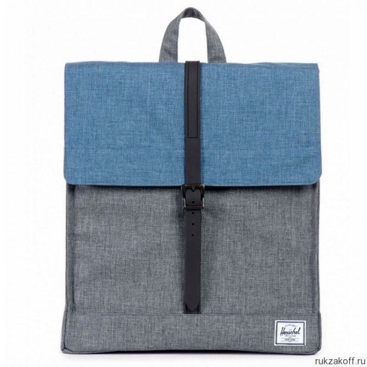 Рюкзак Herschel City Charcoal Crosshatch Navy Crosshatch Rubber